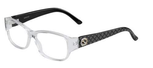 Brille Gucci GG3185 (74O) in CRYSTABLK