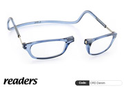 Clic Lesebrille Readers CRD Denim