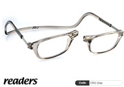 Clic Lesebrille Readers CRG Grey