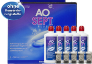 AOSept PLUS 6 Monate 5x360ml Ciba Vision