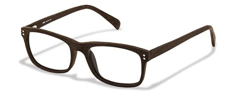 Brille Woodbrille W1430 in braun gr 50/17