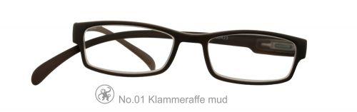Lesebrille No.01 Klammeraffe mud