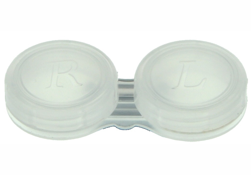 Kontaktlinsenbehälter transparent