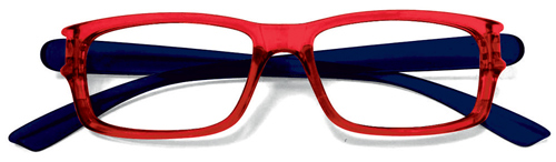 Lesebrille No.29 red blue