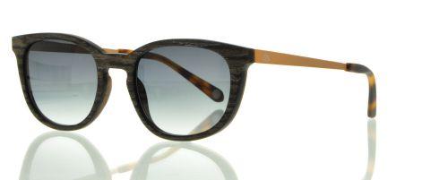 Sonnenbrille Schmetterling Schwarzschiefer #3898