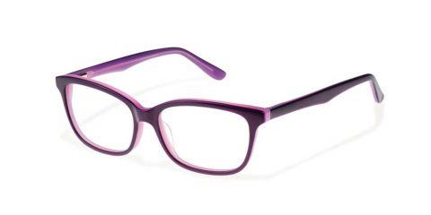 Brille Smart S1640 in Größe 49/14 in der Farbe Lila zweifarbig