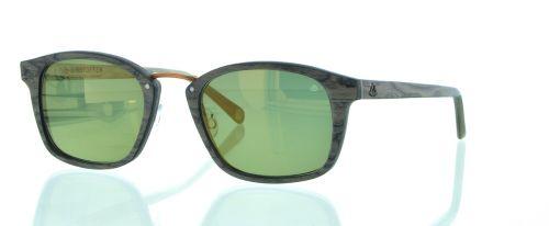 Sonnenbrille Revolverheld Wallnusswurzel 4012