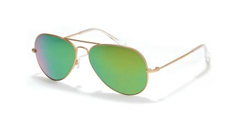 Sonnenbrille Retro Sonnenbrille R2760 in Gold