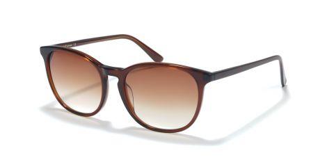 Sonnenbrille Ladies Sonnenbrille S1710 in Braun Transparent
