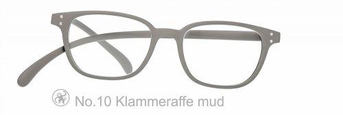 Lesebrille No.10 Klammeraffe mud
