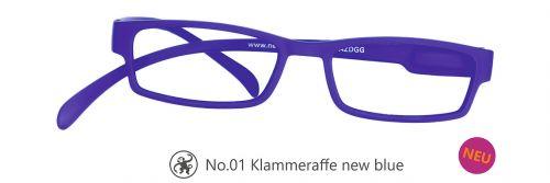 Lesebrille No.01 Klammeraffe new blue
