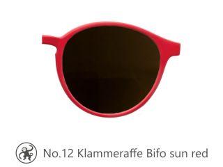 Lesebrille No.12 Klammeraffe Bifo Sonne red