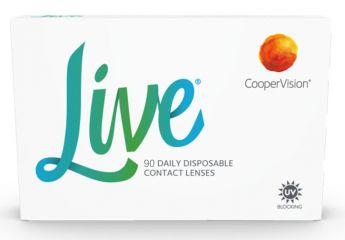 Live 90er Kontaktlinsen Cooper Vision