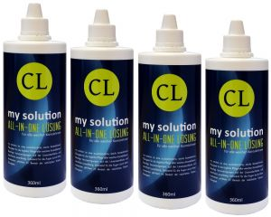 Premium my solution All-In-One Lösung 4x 360ml