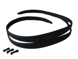 Optischeschwimmbrille Blick Kopfband schwarz mit 3 Nasenstege