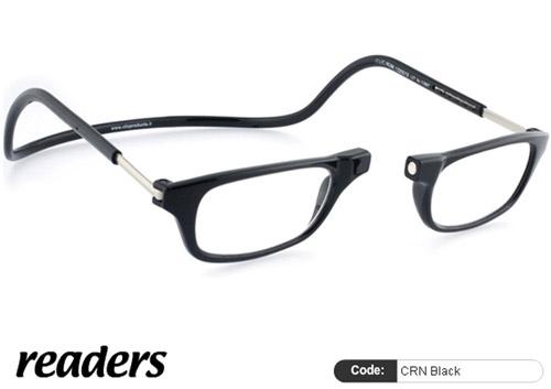 Clic Lesebrille Readers CRN Black