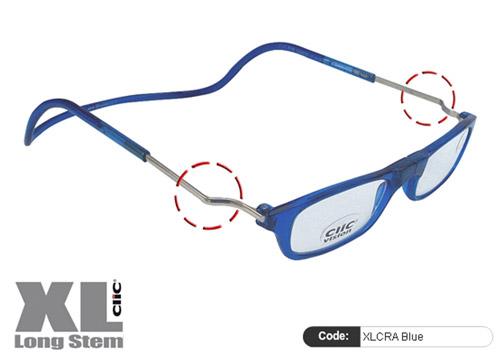 Clic Lesebrille XL CRA Blue