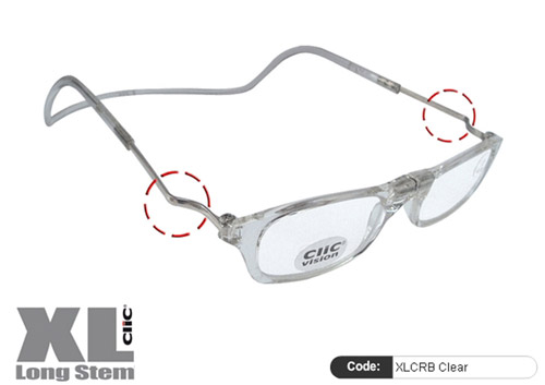 Clic Lesebrille XL CRB Clear