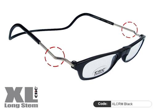 Clic Lesebrille XL CRN Black