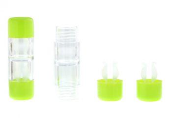Kontaktlinsenbehälter Hart hellgrün