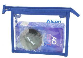 AOSept PLUS 90ml + Tasche Reisepackung MHD Alcon