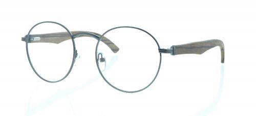 Brille Holzbrille EL90801 in grau