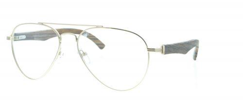 Brille Holzbrille EL90802 in gold