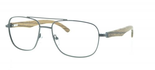 Brille Holzbrille EL90803 in grau