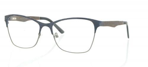 Brille Holzbrille EL90807 in gun blau