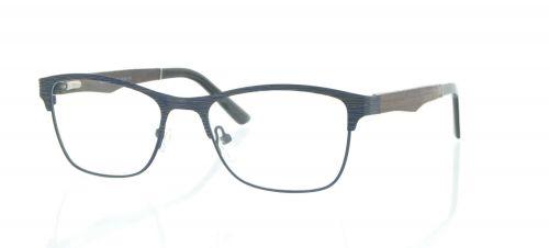 Brille Holzbrille EL90808 in blau