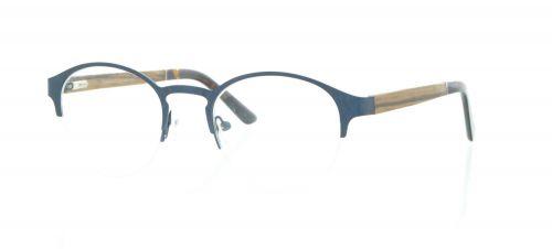 Brille Holzbrille EL90809 in blau