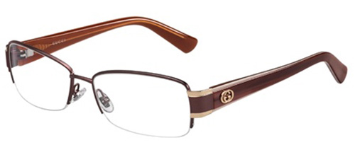 Brille Gucci GG 2870 IQA weinrot