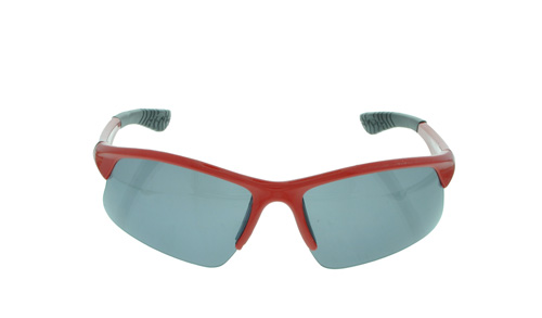 Brille 1A Sportsonnenbrille III rot