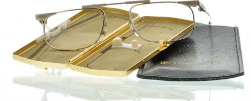 Brille Klappbrille KND-01 Kanada gold