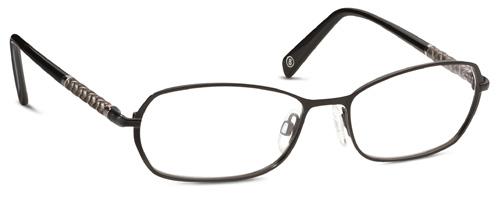 Brille Bogner 731003 10 gr 53/16 in schwarz matt