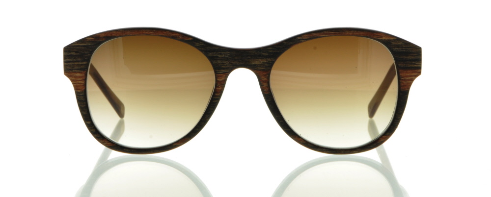 einSTOFFen Sonnenbrille Entdecker Braunes Ebenholz 3911 c0o70Mln5s