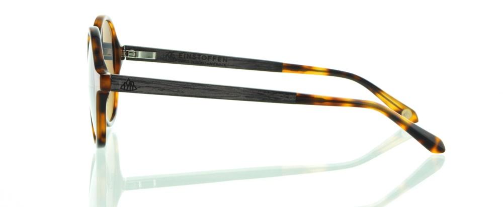 einSTOFFen Sonnenbrille Tropenforscher Braunes Ebenholz 3912 WRSw6