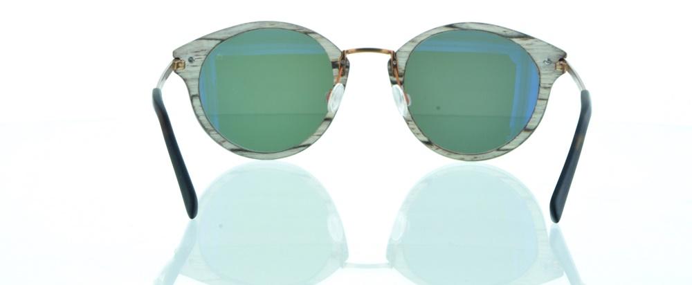 einSTOFFen Sonnenbrille Django Wallnusswurzel 4005 gtdbq