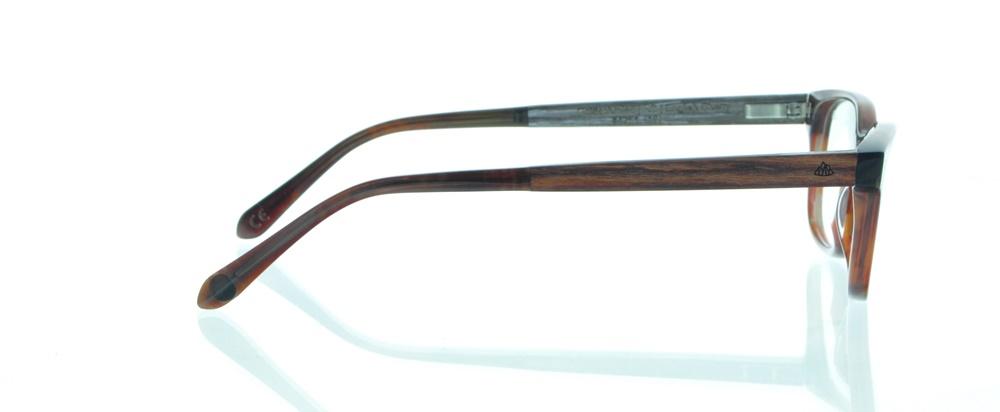 einSTOFFen Brille Einstoffen Goldschmied Makassar Ebenholz 3994 (07) cqImA0lFm
