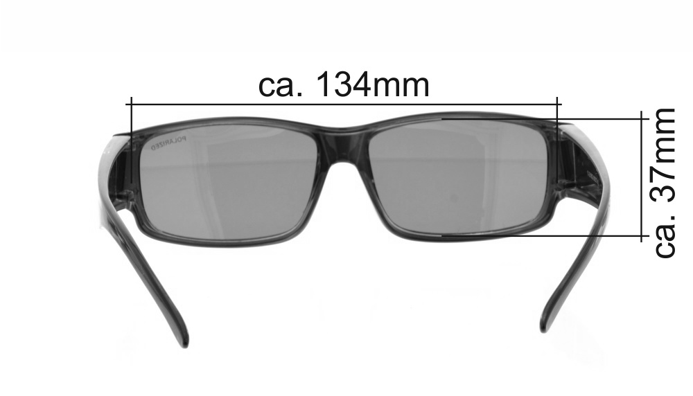 1A-sehen.de Brille Überzieh Sonnenbrille Flash 13-281803 14Y2D